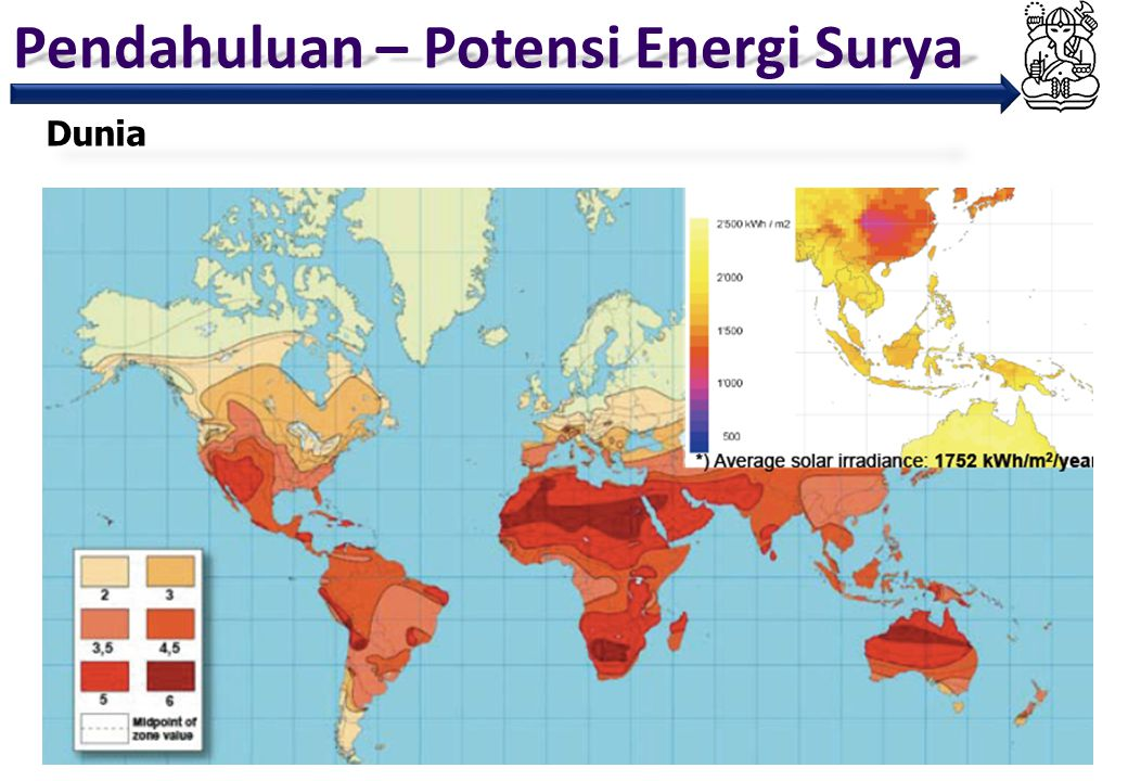Pendahuluan – Potensi Energi Surya