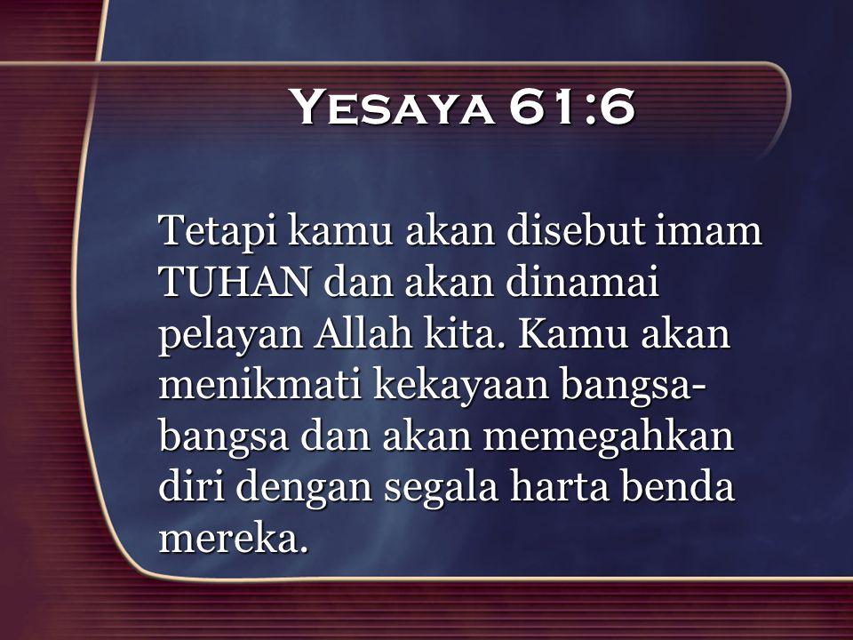 Yesaya 61:6
