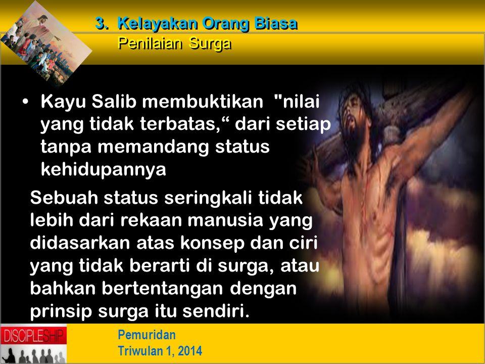 3. Kelayakan Orang Biasa Penilaian Surga