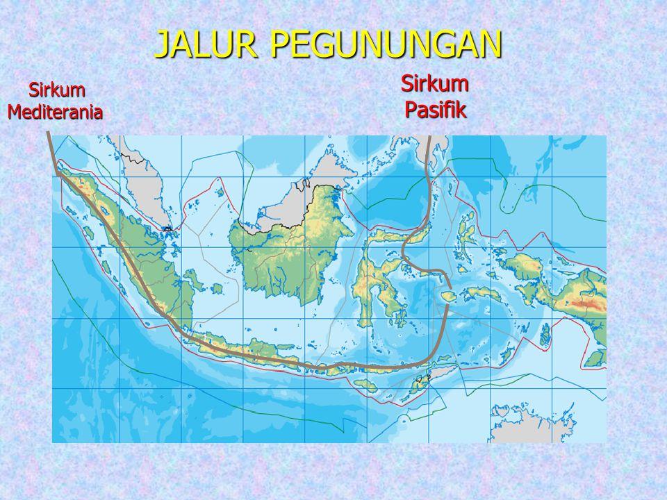 JALUR PEGUNUNGAN Sirkum Mediterania Sirkum Pasifik