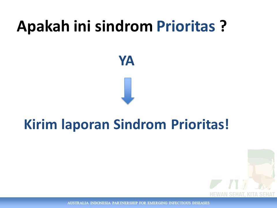 Apakah ini sindrom Prioritas