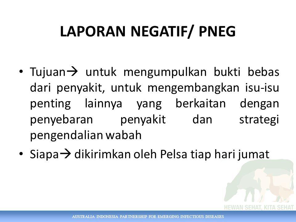LAPORAN NEGATIF/ PNEG