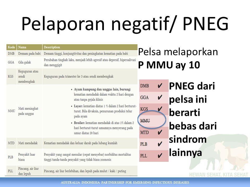 Pelaporan negatif/ PNEG