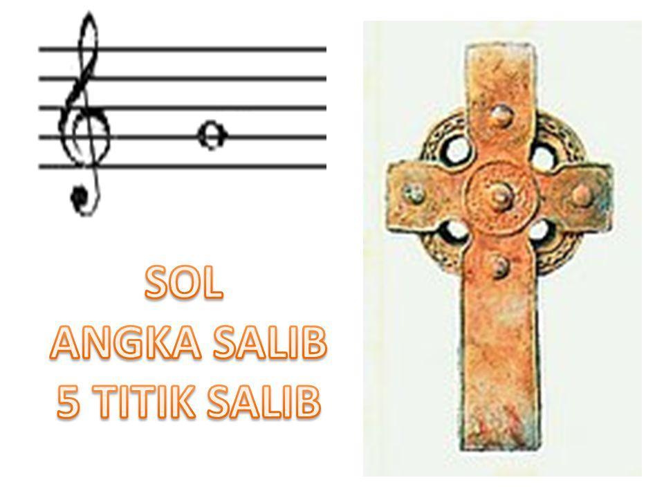 SOL ANGKA SALIB 5 TITIK SALIB