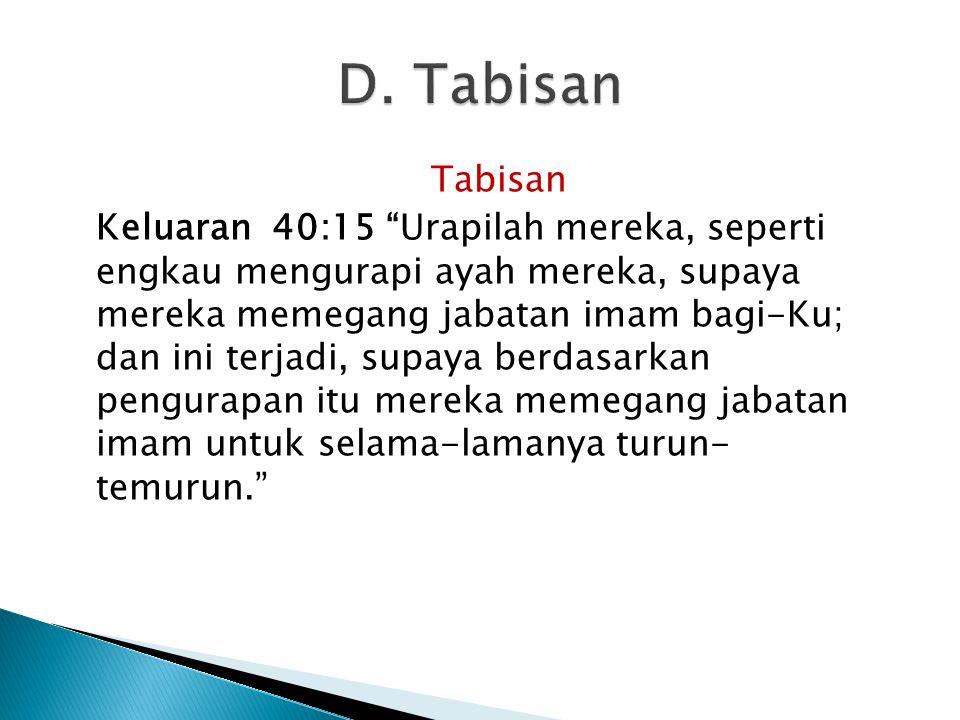 D. Tabisan Tabisan.