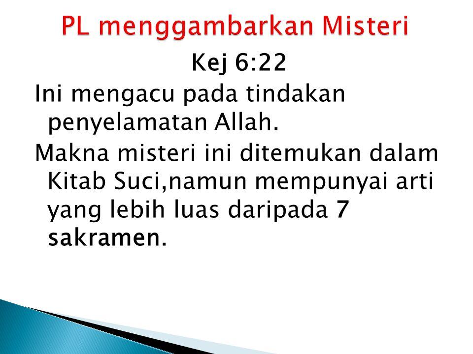 PL menggambarkan Misteri