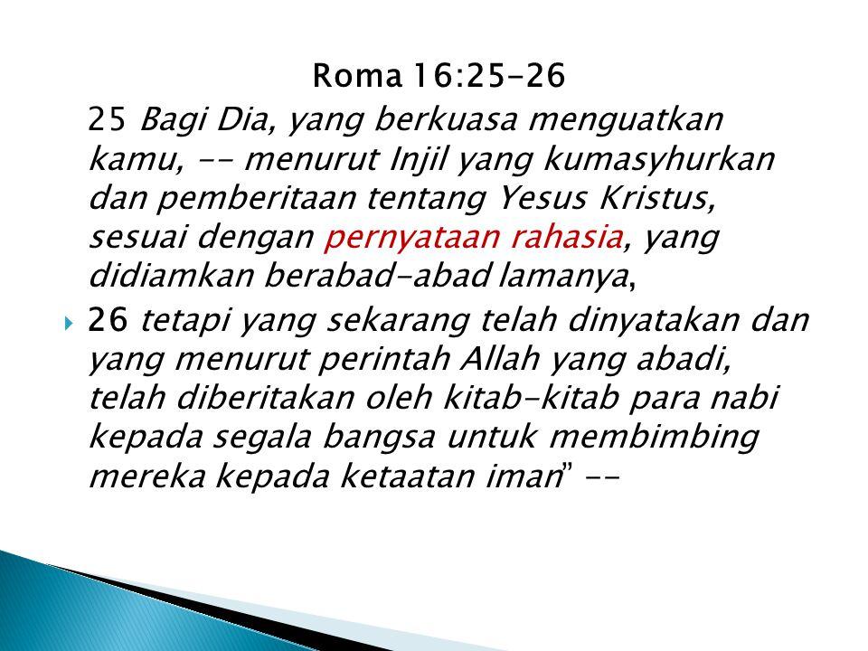 Roma 16:25-26