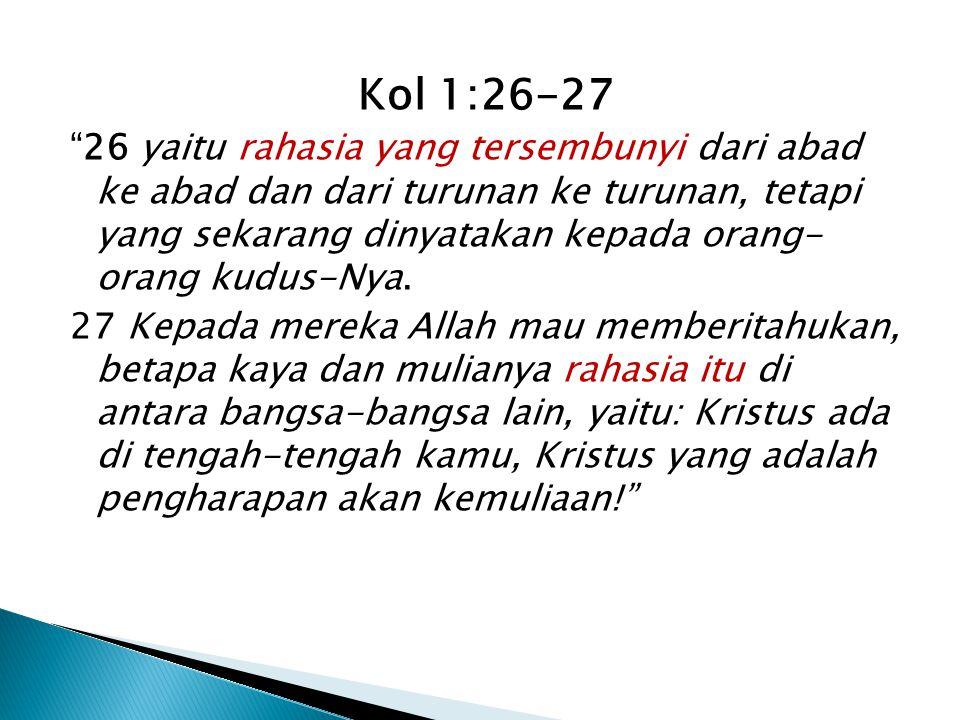 Kol 1:26-27