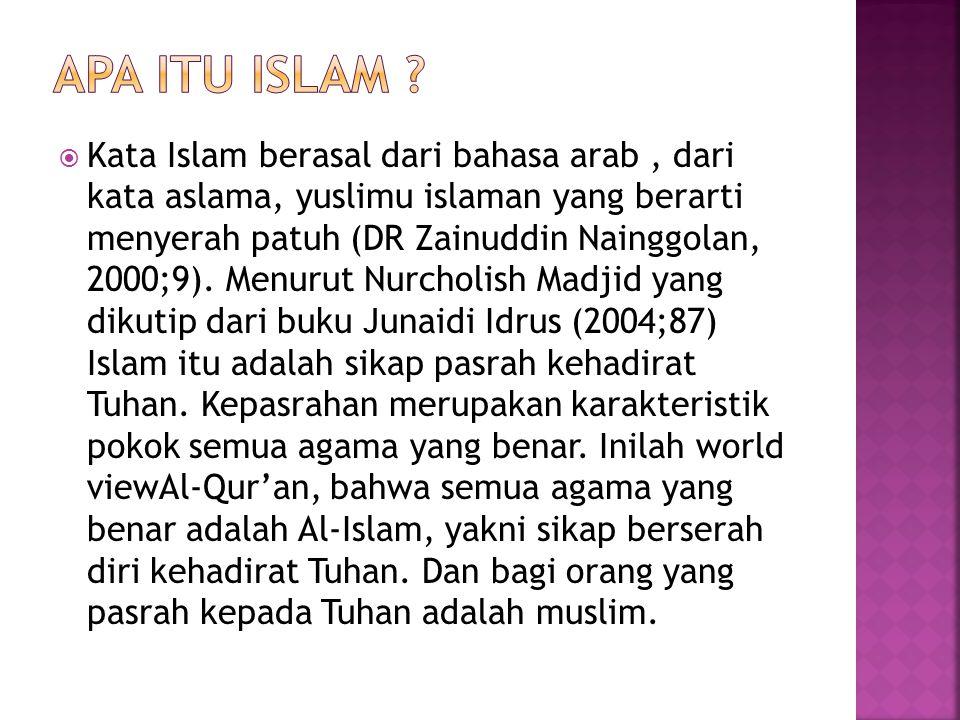 Apa itu islam