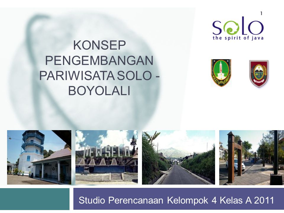 Konsep Pengembangan Pariwisata Solo - Boyolali