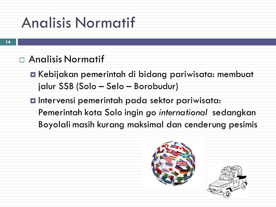 Analisis Normatif Analisis Normatif