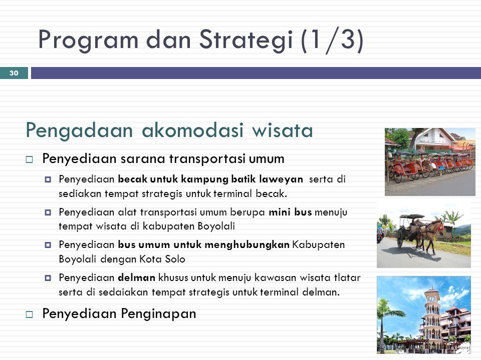 Program dan Strategi (1/3)