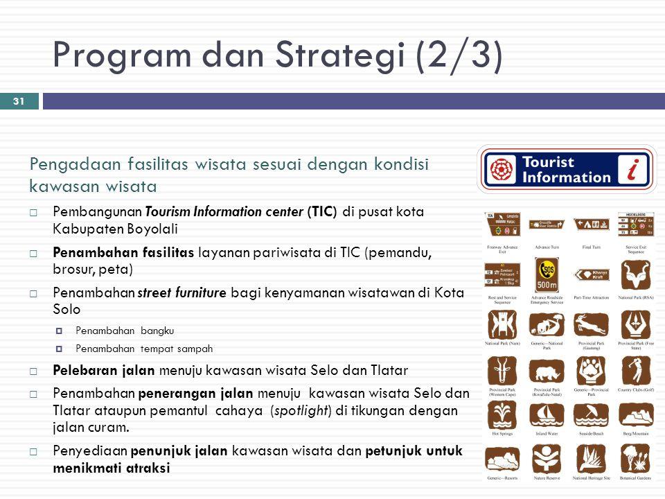 Program dan Strategi (2/3)