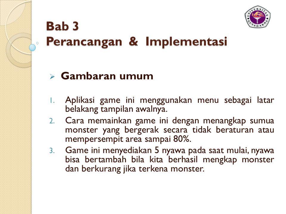 Bab 3 Perancangan & Implementasi