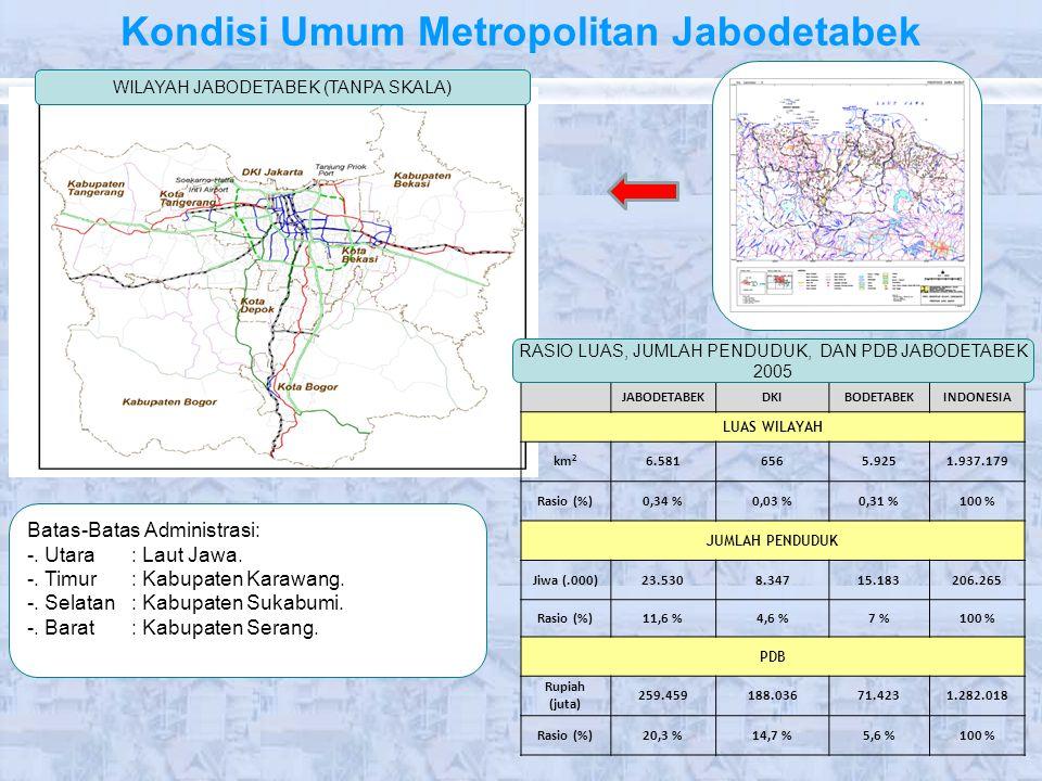 Kondisi Umum Metropolitan Jabodetabek