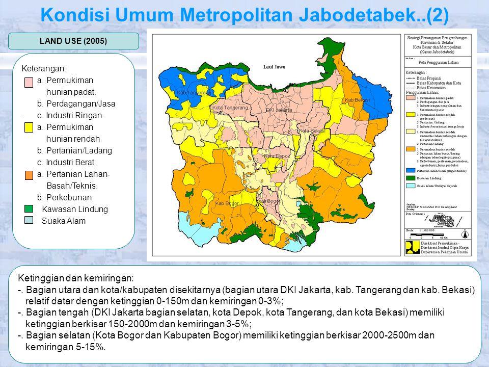 Kondisi Umum Metropolitan Jabodetabek..(2)