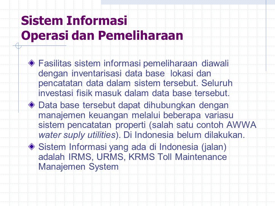 Sistem Informasi Operasi dan Pemeliharaan