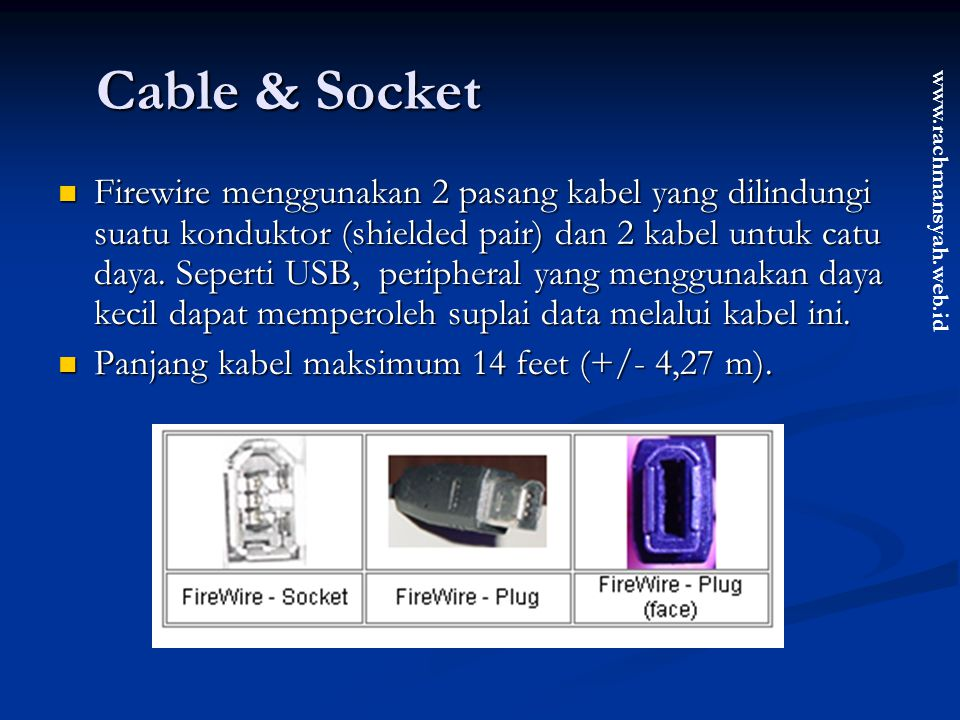 Cable & Socket