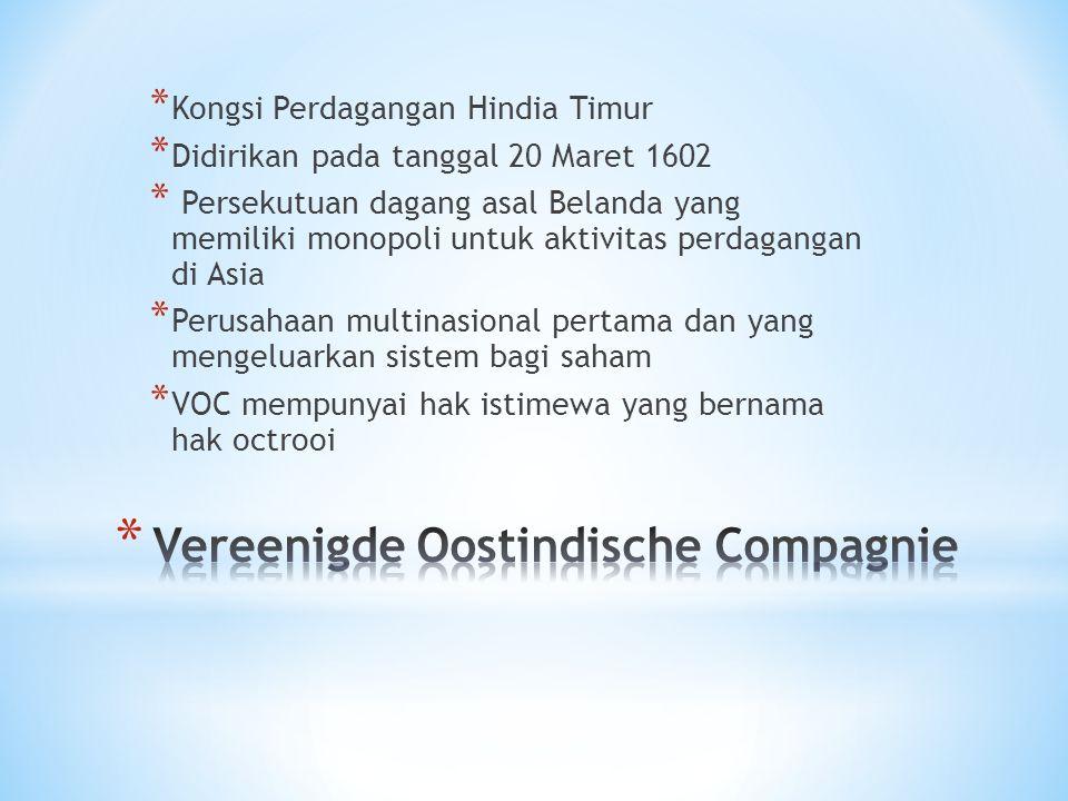 Vereenigde Oostindische Compagnie