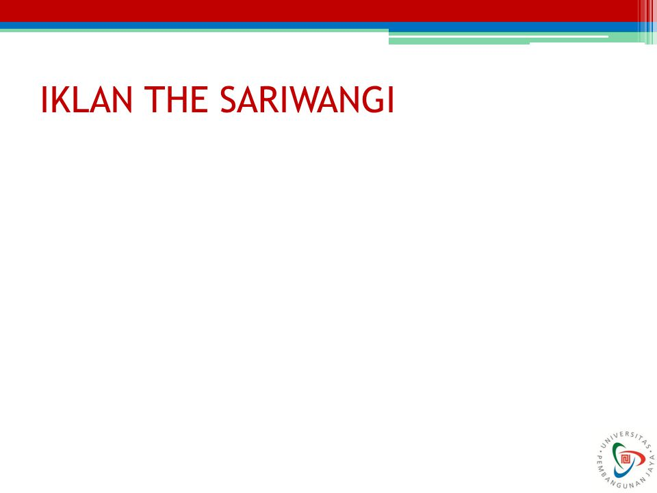 IKLAN THE SARIWANGI
