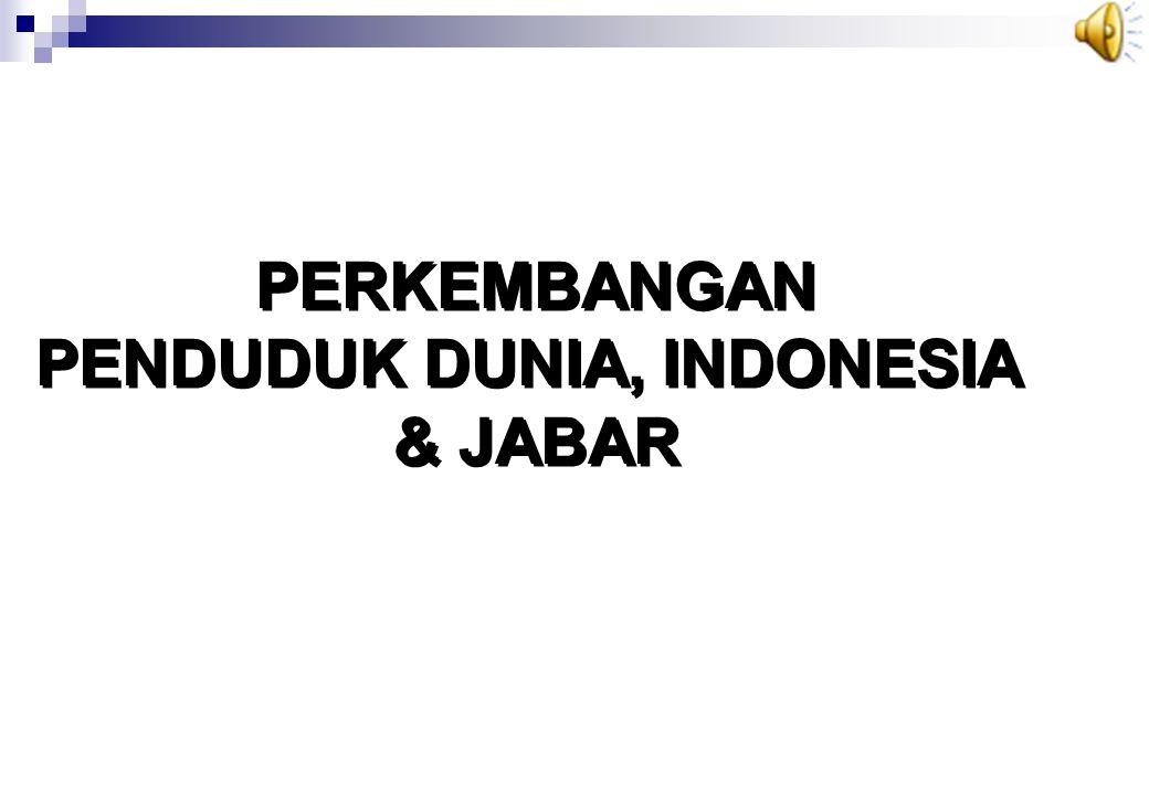 PENDUDUK DUNIA, INDONESIA
