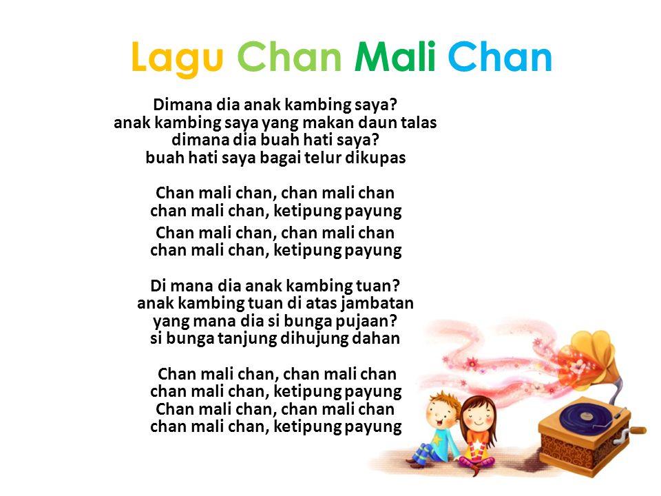 Lagu Chan Mali Chan