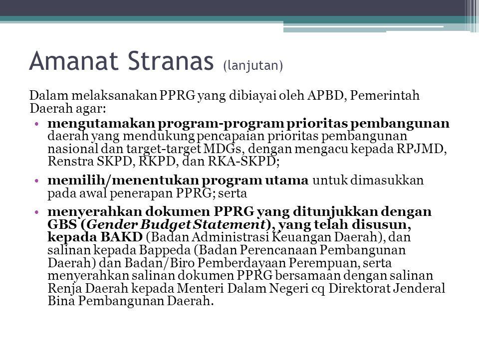 Amanat Stranas (lanjutan)