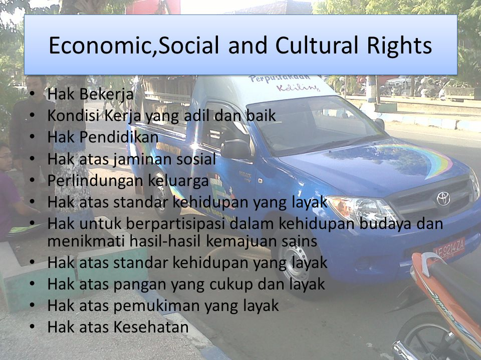 Economic,Social and Cultural Rights