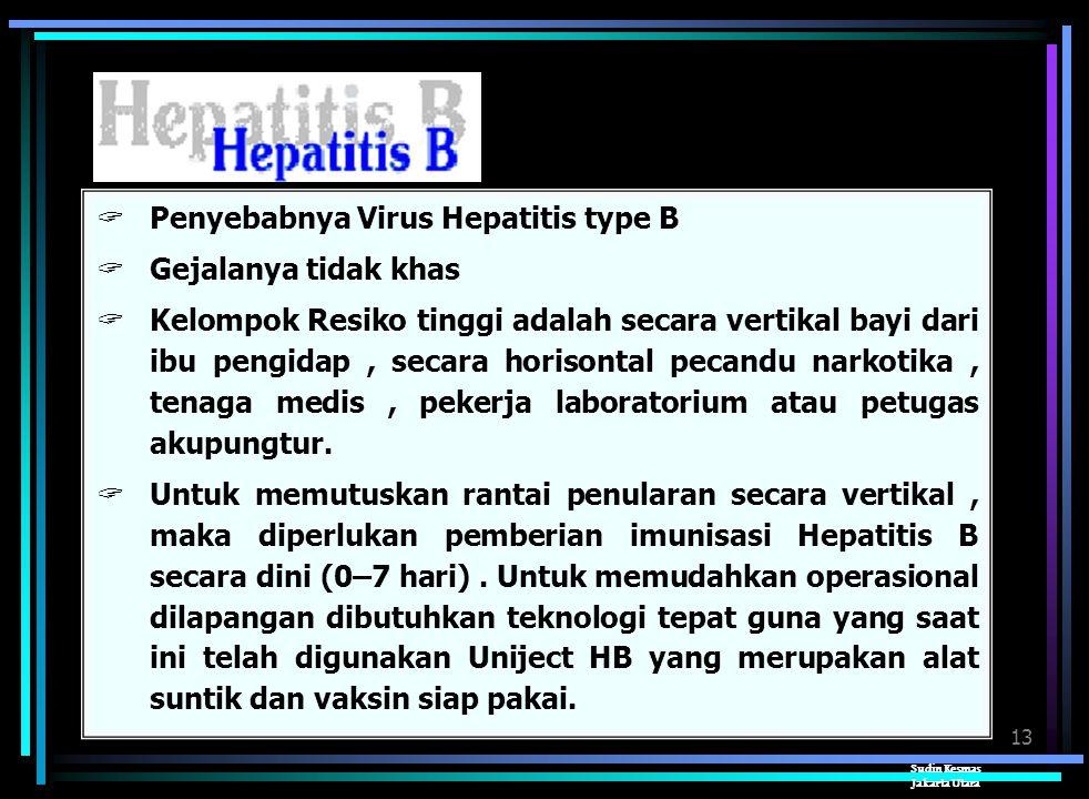 Penyebabnya Virus Hepatitis type B Gejalanya tidak khas