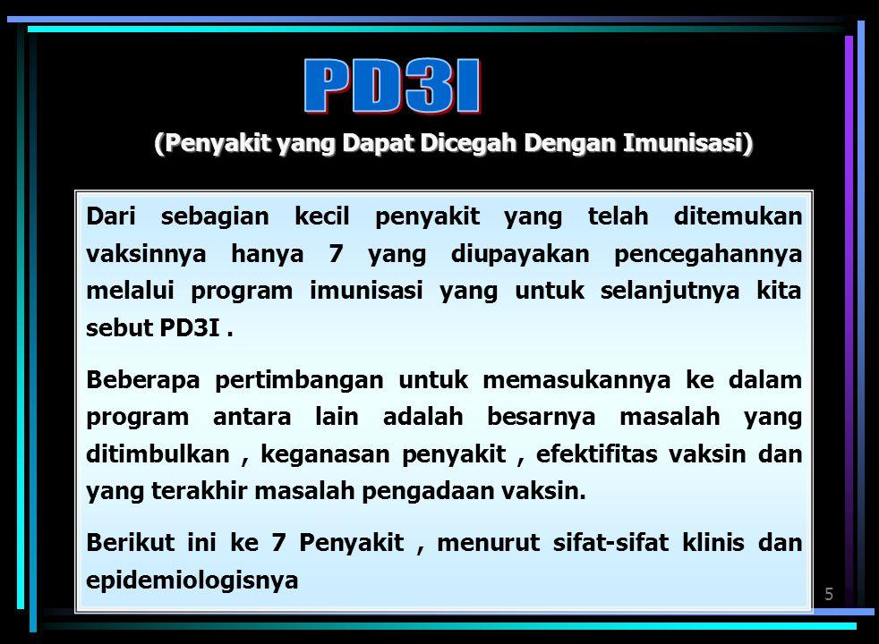 PD3I (Penyakit yang Dapat Dicegah Dengan Imunisasi)