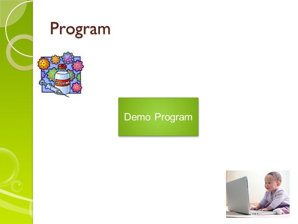 Program Demo Program