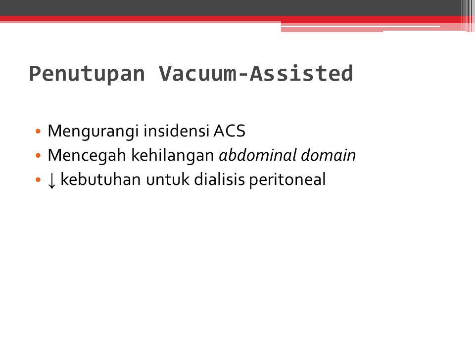 Penutupan Vacuum-Assisted