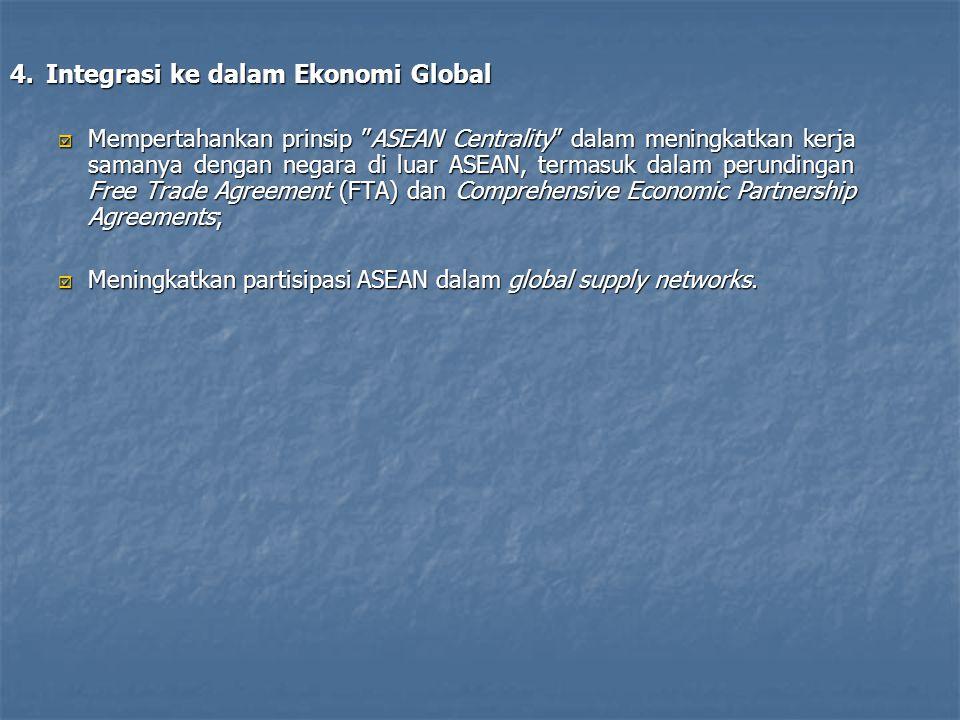 4. Integrasi ke dalam Ekonomi Global