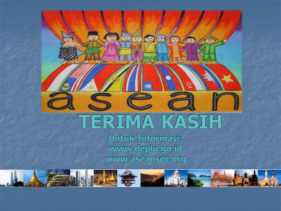 TERIMA KASIH Untuk Informasi: www.deplu.go.id www.aseansec.org