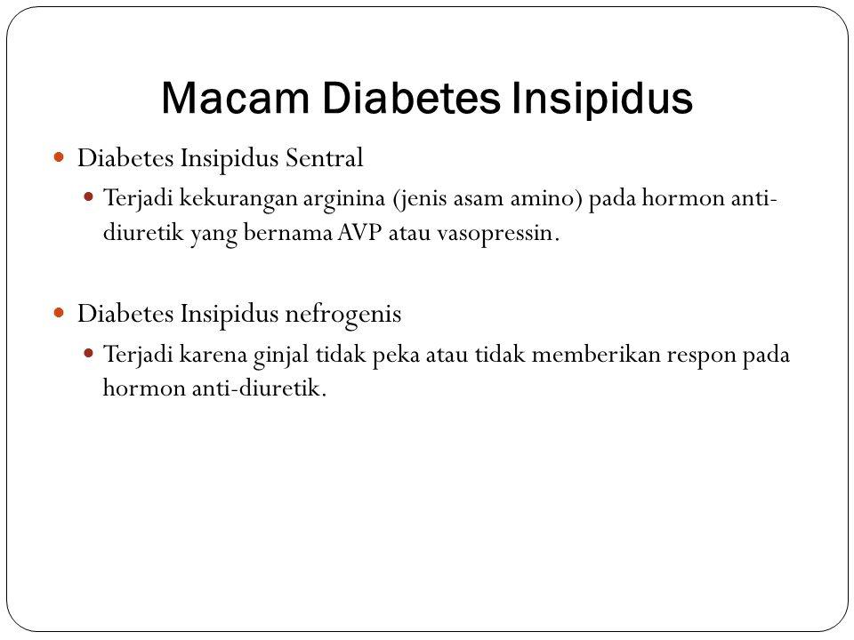 Macam Diabetes Insipidus