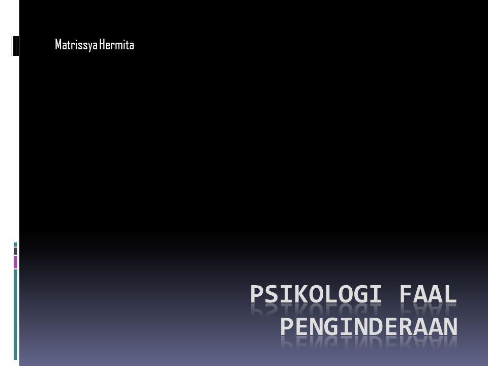 Psikologi faal penginderaan