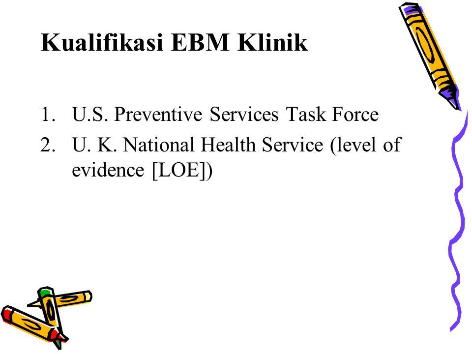 Kualifikasi EBM Klinik