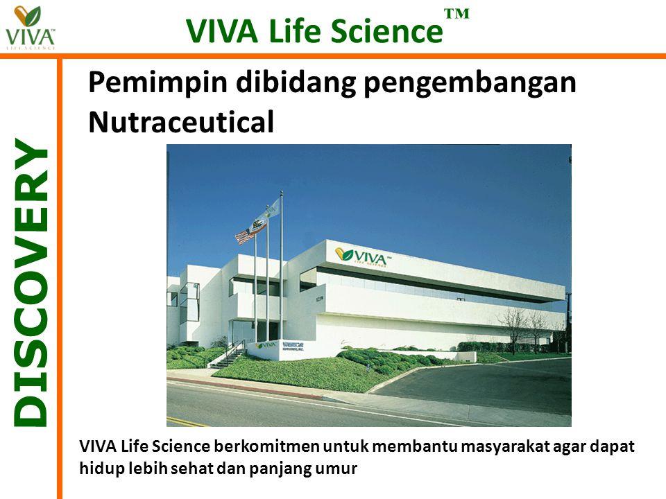 DISCOVERY VIVA Life Science™ Pemimpin dibidang pengembangan