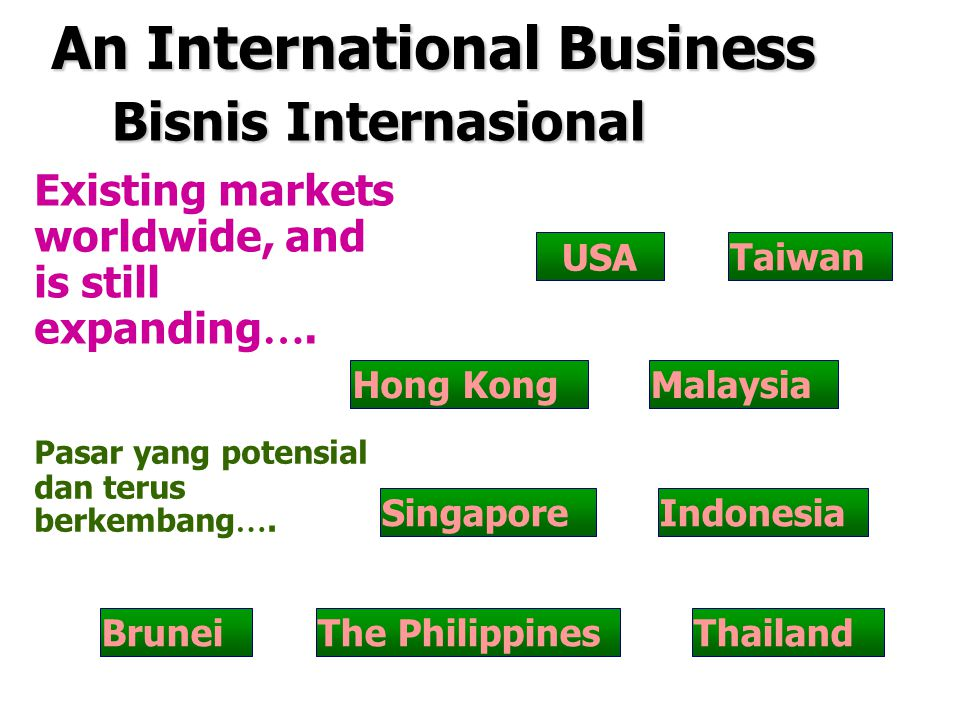 An International Business