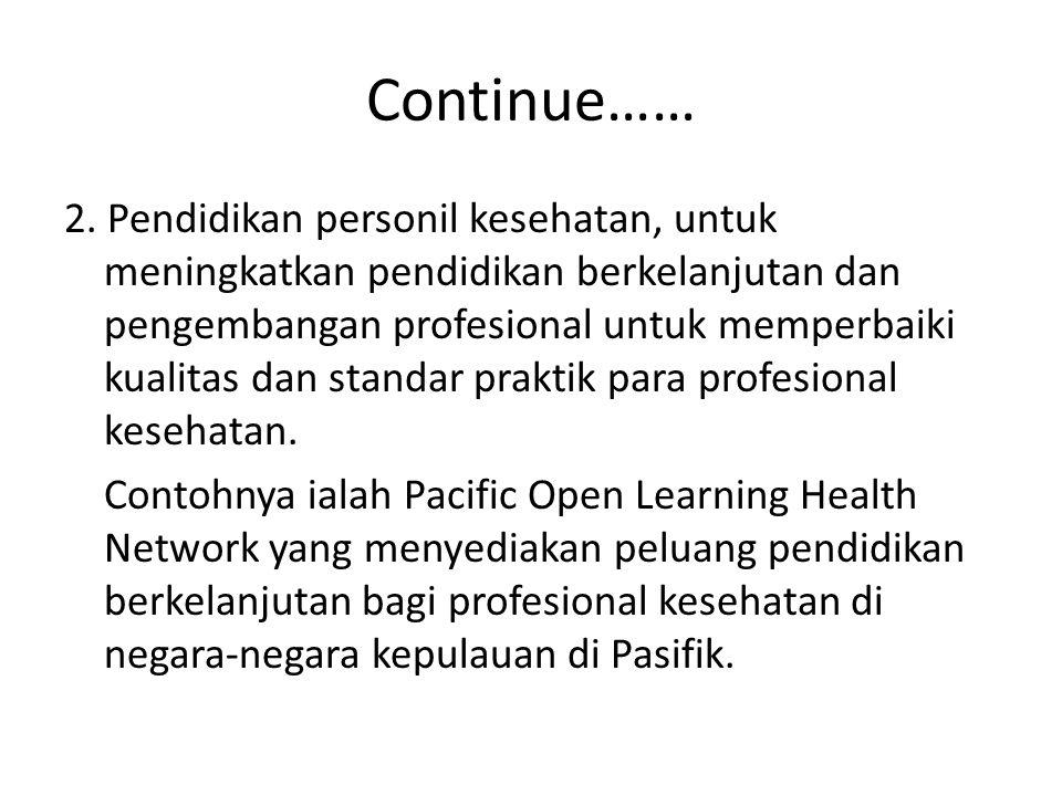 Continue……