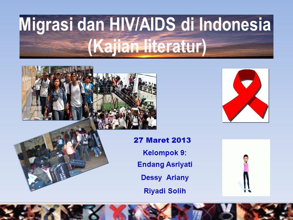 Migrasi dan HIV/AIDS di Indonesia