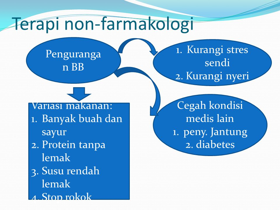 Terapi non-farmakologi