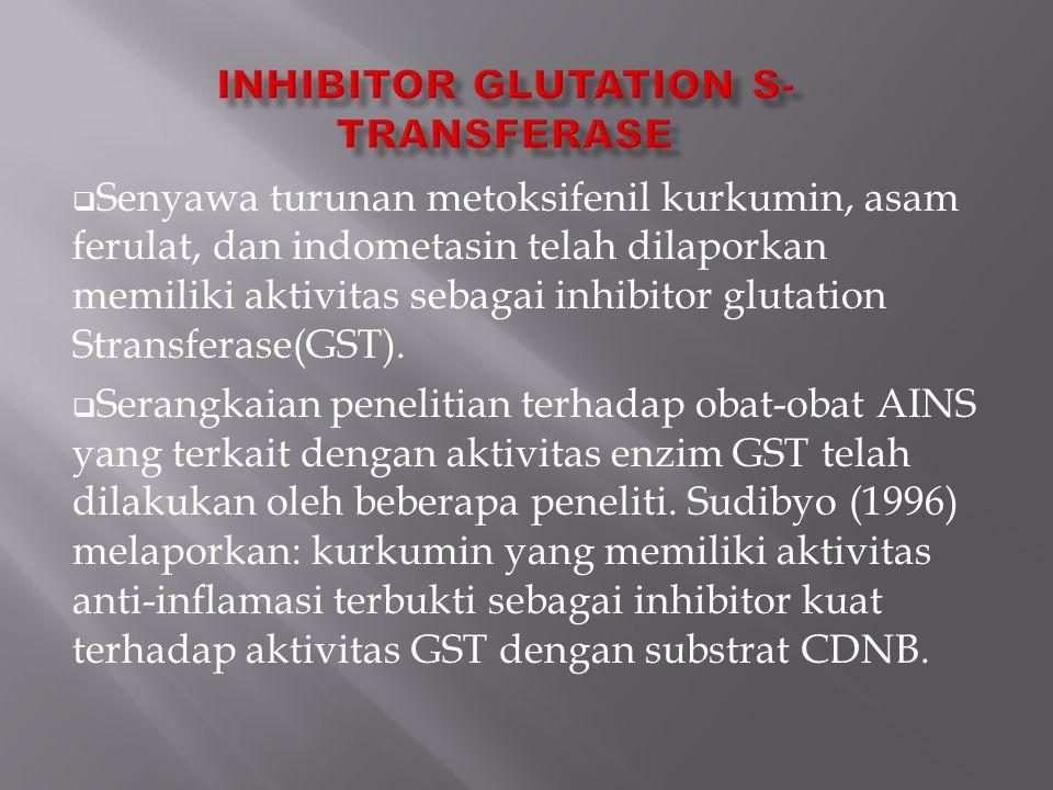 Inhibitor glutation s-transferase