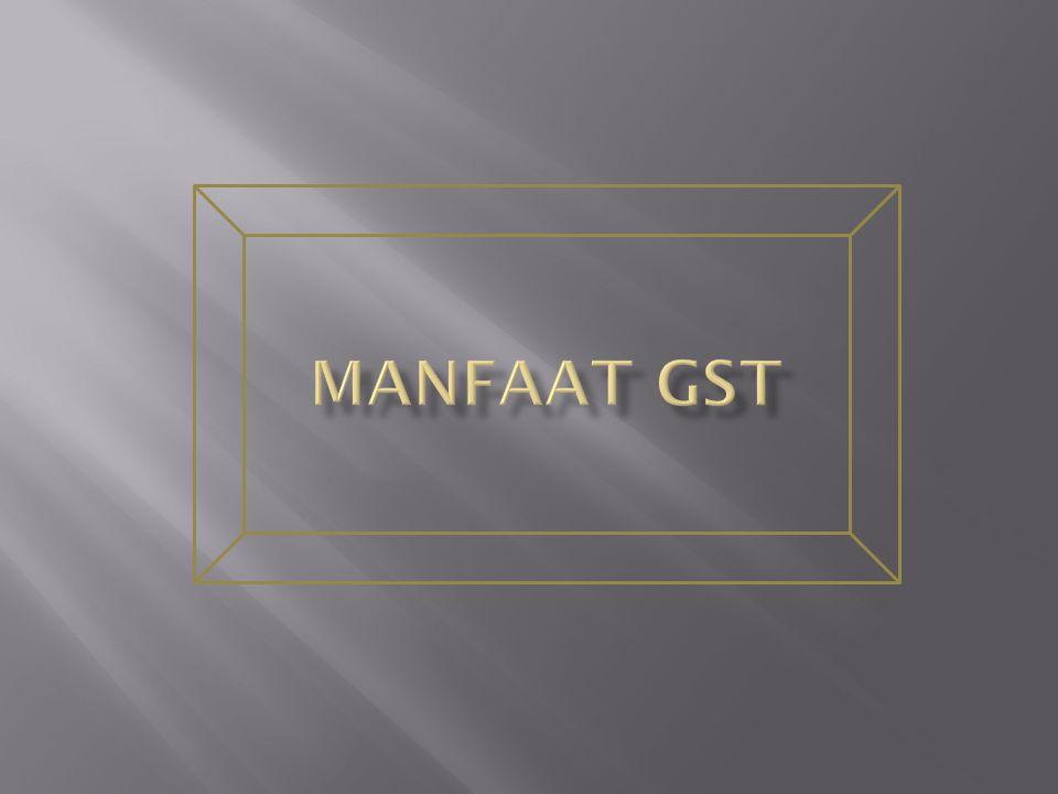 Manfaat GST