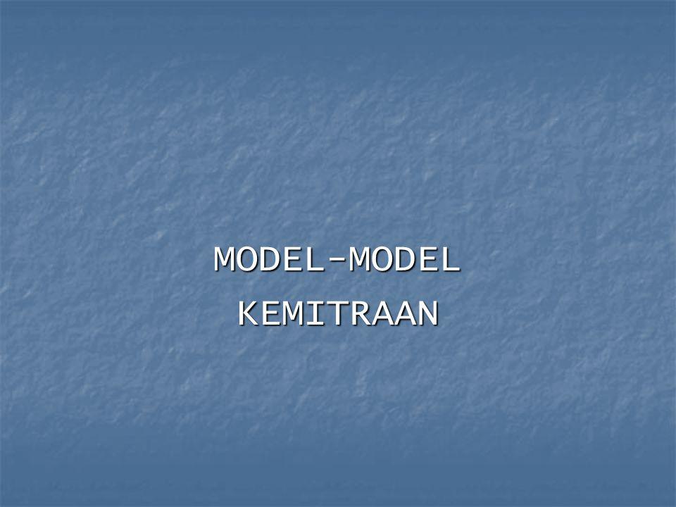 MODEL-MODEL KEMITRAAN