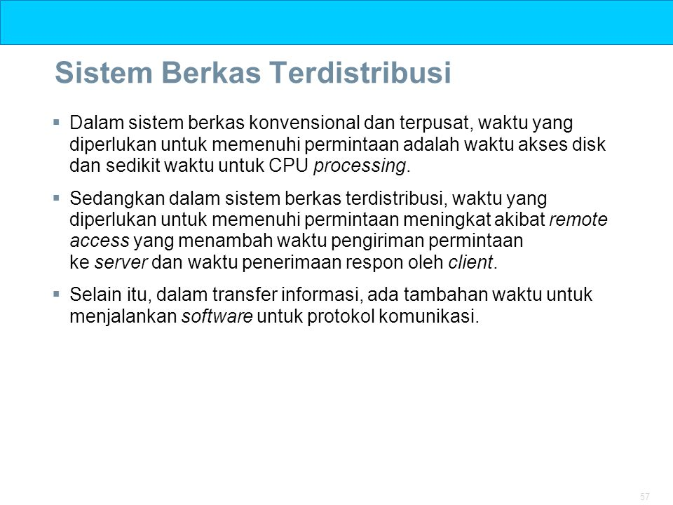 Sistem Berkas Terdistribusi