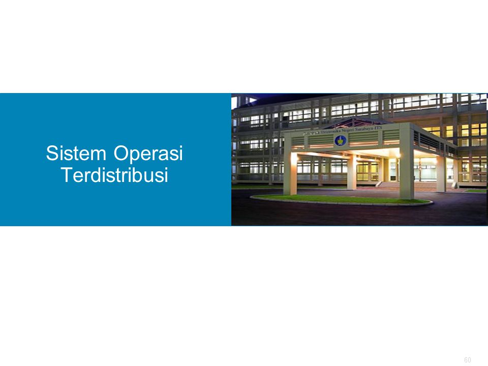 Sistem Operasi Terdistribusi