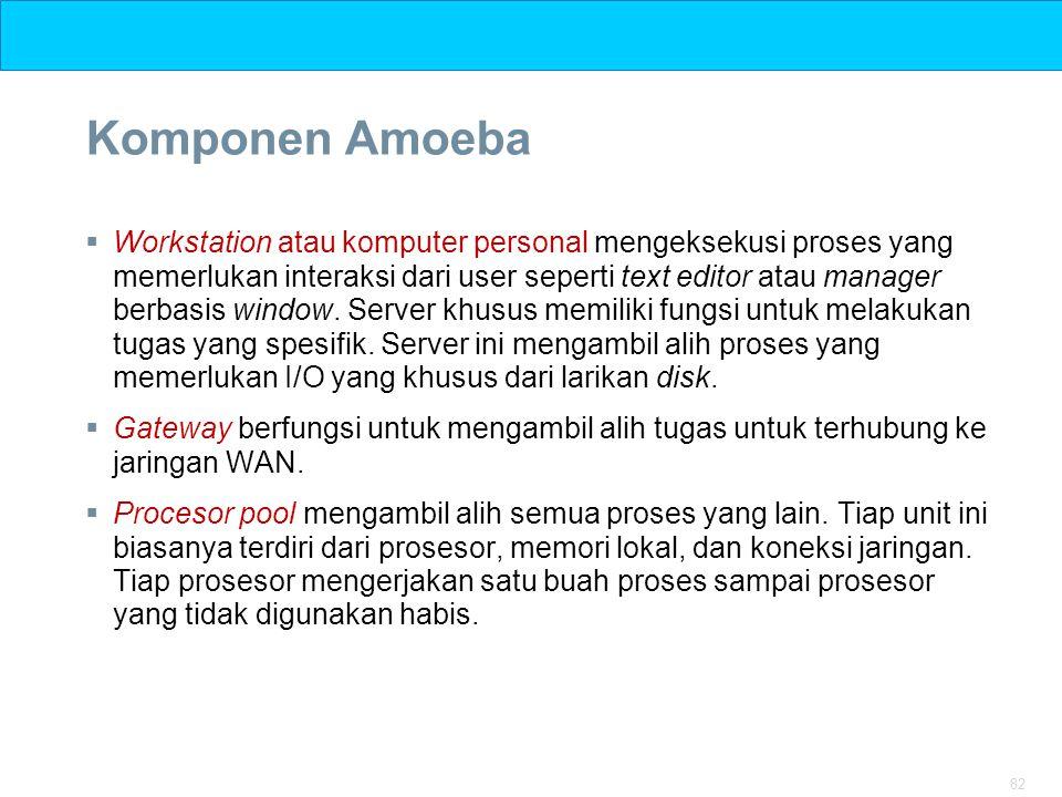 Komponen Amoeba