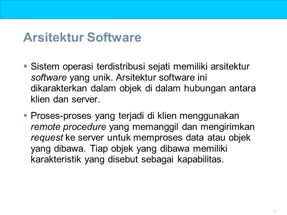Arsitektur Software