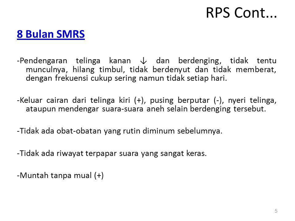 RPS Cont... 8 Bulan SMRS.